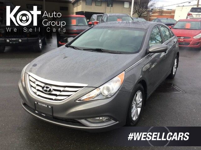 2013 Hyundai Sonata GLS Heated Front Seats, Key-Less Entry Kelowna BC