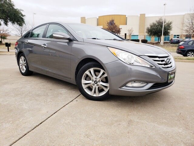 2013 Hyundai Sonata Limited HEATED SEATS, SUNROOF, LEATHER, AND MUCH MORE!!! CARROLLTON TX