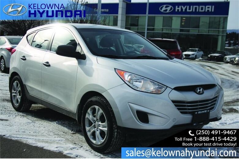 2013 Hyundai Tucson GL Heated seats and bluetooth Kelowna BC