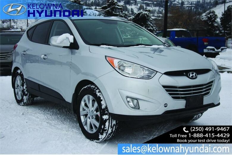 2013 Hyundai Tucson GLS Sunroof, Heated seat, Bluetooth Kelowna BC