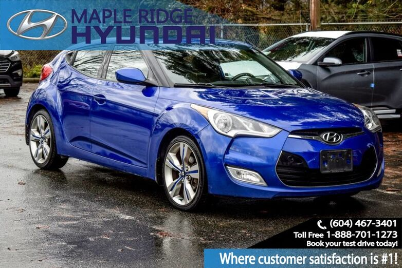 2013 Hyundai Veloster 3dr Cpe Auto w/Tech Maple Ridge BC
