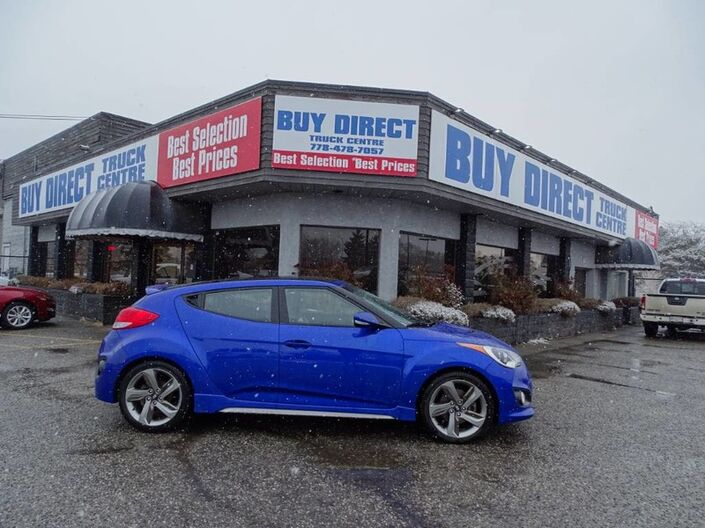 2013 Hyundai Veloster Turbo Manual, Navigation, Sunroof, Push-to-start, Heated seats, Kelowna BC