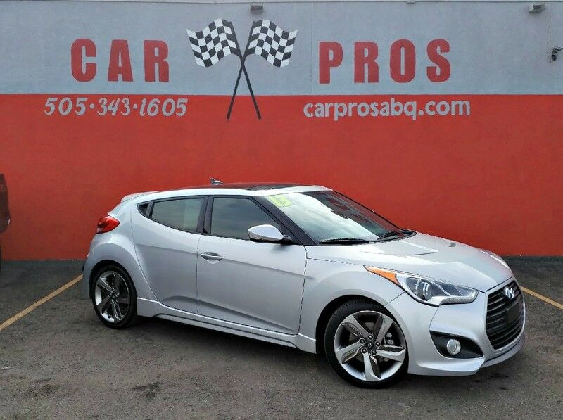 2013 Hyundai Veloster Turbo w/Black Int