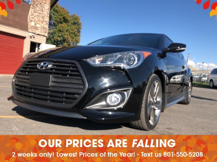 2013 Hyundai Veloster Turbo w/Black Int Salt Lake City UT