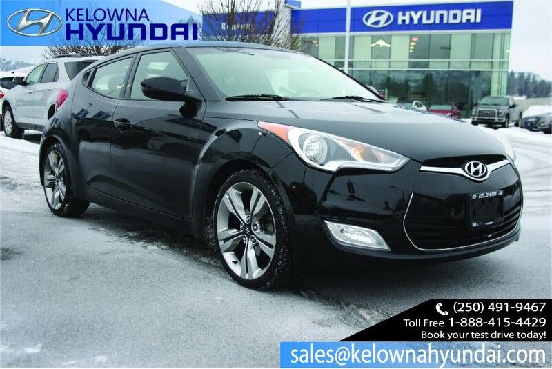 2013 Hyundai Veloster w/Tech Keyless entry,Alloy wheels,Nav, sunroof Kelowna BC