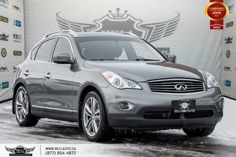 2013 INFINITI EX37 NO ACCIDENT, AWD, NAVI, BACK-UP CAM, SENSORS