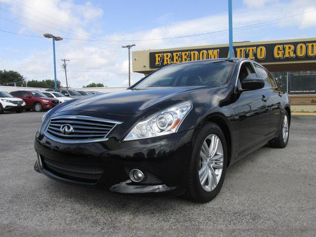 2013 INFINITI G37 Sedan Journey Dallas TX