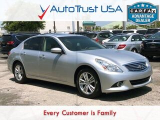 INFINITI G37 Sedan X LEATHER SUNROOF BACKUP CAM HEAT/COOL SEATS AWD 2013