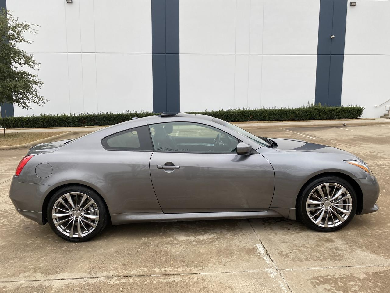 2013 INFINITI G37S  Coupe Sport 6 Speed Manual Dallas TX