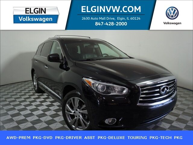 2013 INFINITI JX35 Deluxe Touring & Technology Package Elgin IL