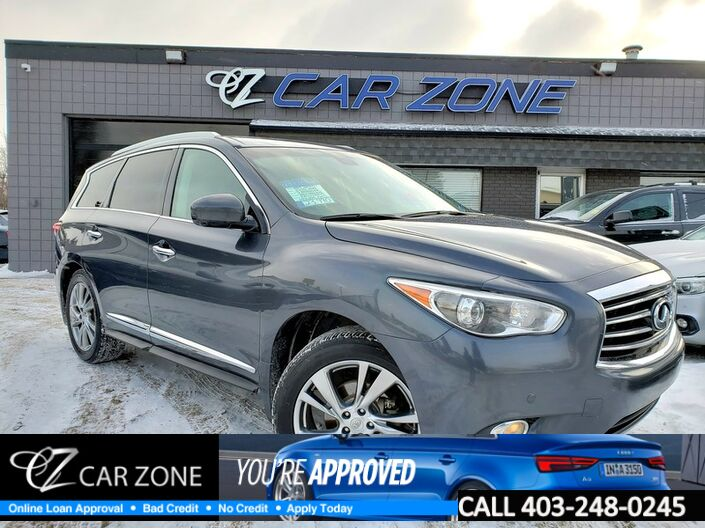 2013 INFINITI JX35 FULLY LOADED TECHNOLOGY DVDS Calgary AB