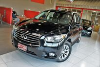INFINITI JX35 Premium Theater Drivers Assistance Maple Accent Package Roof Rails Navigation Sunroof Owner 2013