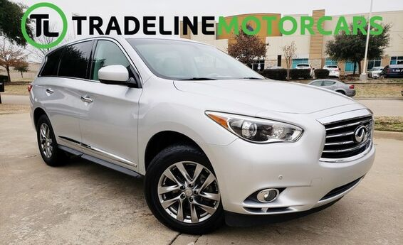 2013 INFINITI JX35 SUNROOF, REAR VIEW CAMERA, NAVIGATION, AND MUCH MORE!!! CARROLLTON TX