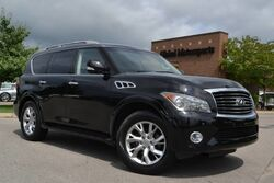 INFINITI QX56 4X4/Theater Pkg/Middle Row Captains/Navigation/360 Cams/Heated Seats-Steering Wheel/Power Folding 3rd Row/Bose Sound/Power Liftgate 2013