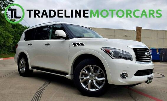 2013 INFINITI QX56 NAVIGATION, LEATHER, REAR VIEW CAMERA, AND MUCH MORE!!! CARROLLTON TX