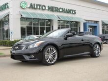 2013_Infiniti_G Convertible_G37 Sport NAV, HTD/COOLED STS, BOSE, PARK AID, BACKUP CAM, BLUETOOTH, PUSH BUTTON, AUX INPUT_ Plano TX