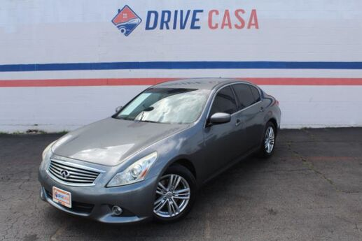 2013 Infiniti G Sedan 37 Journey Dallas TX