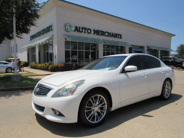 2013 Infiniti G Sedan 37 Journey LEATHER, HTD FRONT STS, NAVIGATION, BACK UP CAMERA, SUNROOF, MEMORY SEAT, KEYLESS START Plano TX