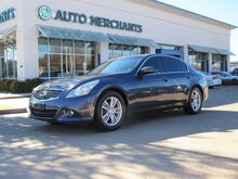 2013_Infiniti_G Sedan_37 Journey, LEATHER SEATS, NAVIGATION SYSTEM, SUNROOF, SATELLITE RADIO, REAR PARKING AID_ Plano TX