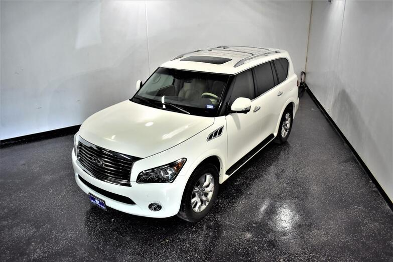 2013 Infiniti QX56 TOURING REAR ENTERTAINMENT Houston TX
