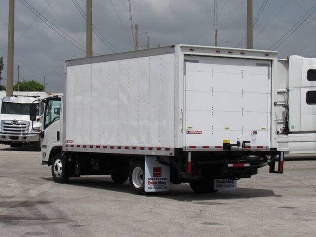 2013 Isuzu NPR ECO-MAX 16' Dry Freight Truck with lift gate