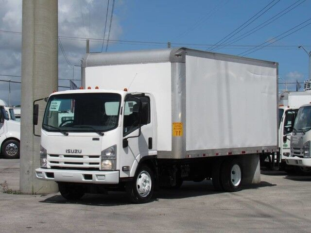 2013 Isuzu NQR 16' Dry Van with Lift Gate Miami FL