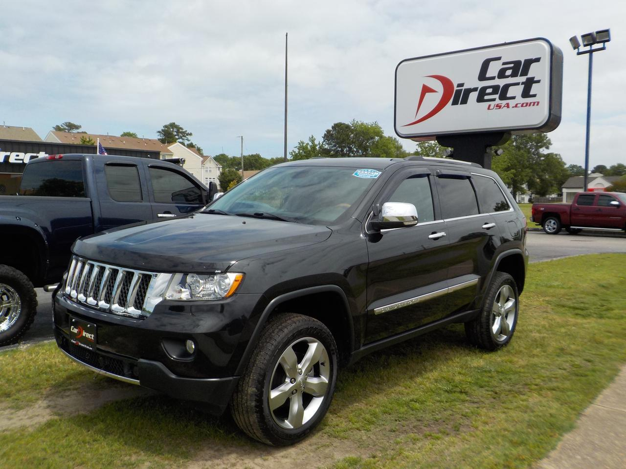 2013 JEEP GRAND CHEROKEE OVERLAND 4X4, NAVIGATION, BLUETOOTH WIRELESS, POWER LIFTGATE, PANO ROOF, TOW, REMOTE START! Virginia Beach VA