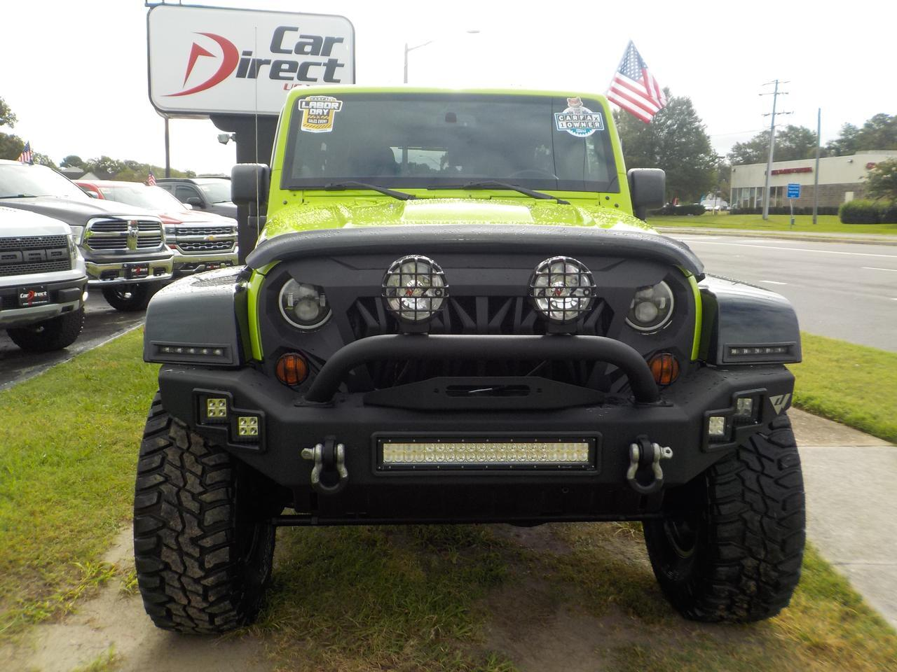 2013 JEEP WRANGLER UNLIMITED SAHARA MOAB 4X4, TOW PACKAGE, DVD SYSTEM, NAVIGATION, KEYLESS ENTRY, CRUISE CONTROL & USB! Virginia Beach VA