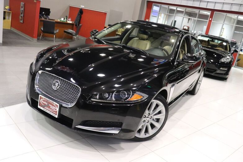 2013 Jaguar XF V6 AWD Premium Cold Weather Package Sunroof Navigation Springfield NJ
