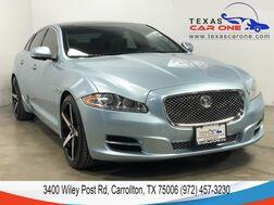 2013_Jaguar_XJ_NAVIGATION PANORAMA LEATHER SEATS KEYLESS START REAR CAMERA BLUE_ Carrollton TX