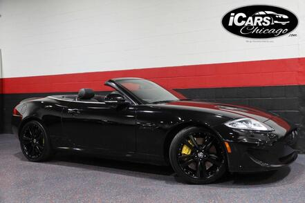 2013_Jaguar_XKR_2dr Convertible_ Chicago IL