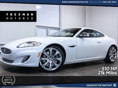 2013_Jaguar_XKR_Special Edition Coupe 510 HP Htd/Cooled Seats 21k Miles_ Portland OR