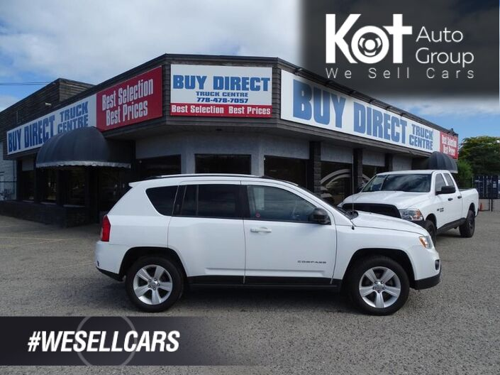 2013 Jeep Compass North 4X4 4 Cylinder Kelowna BC