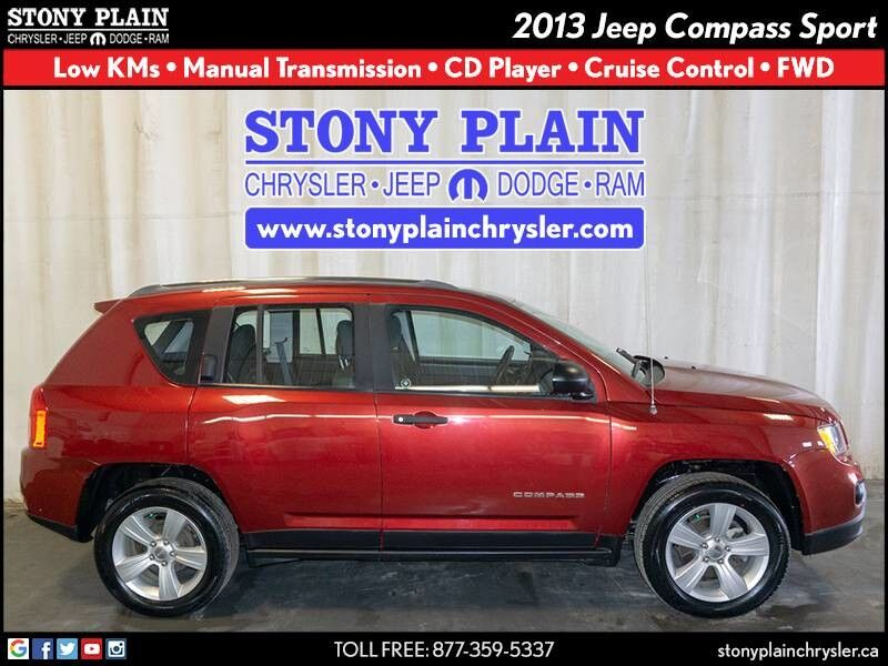 2013 Jeep Compass Sport Stony Plain AB