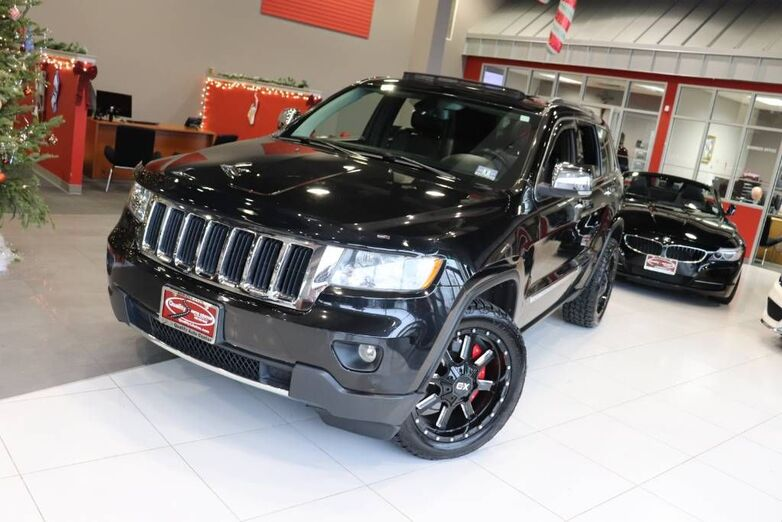2013 Jeep Grand Cherokee Limited 5.7 Hemi 5.7 Tow Hitch Aluminum Painted Wheels Springfield NJ