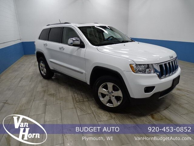 2013 Jeep Grand Cherokee Limited Plymouth WI