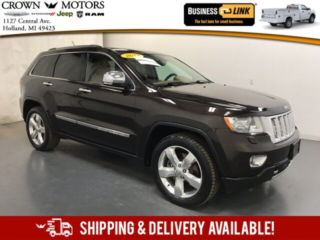 2013 Jeep Grand Cherokee Overland Holland MI