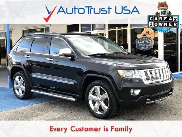 2013 Jeep Grand Cherokee Overland Summit Miami FL