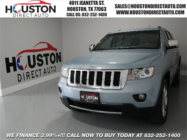 2013 Jeep Grand Cherokee Overland Houston TX