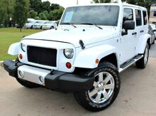 2013_Jeep_Wrangler_** SAHARA UNLIMITED ** - w/ NAVIGATION & LEATHER SEATS_ Lilburn GA