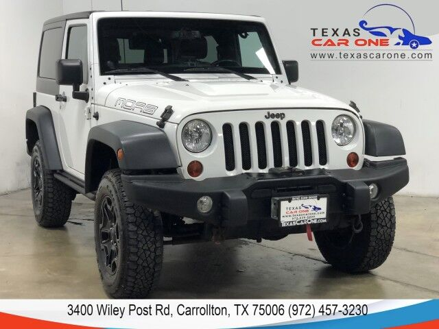 2013 Jeep Wrangler MOAB 4WD AUTOMATIC HARD TOP CONVERTIBLE LEATHER HEATED SEATS ALL Carrollton TX