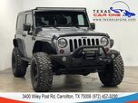 2013 Jeep Wrangler RUBICON 4WD AUTOMATIC HARD TOP CONVERTIBLE BLUETOOTH CRUISE CONTROL ALLOY WHEELS