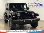 2013 Jeep Wrangler RUBICON 4WD AUTOMATIC HARD TOP CONVERTIBLE NAVIGATION LEATHER HE