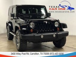 2013_Jeep_Wrangler_RUBICON 4WD AUTOMATIC HARD TOP CONVERTIBLE NAVIGATION LEATHER HE_ Carrollton TX