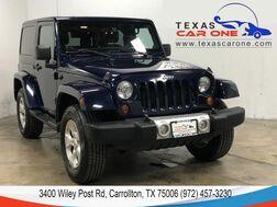 2013_Jeep_Wrangler_SAHARA 4WD HARD TOP CONVERTIBLE LEATHER HEATED SEATS ALLOY WHEEL_ Carrollton TX