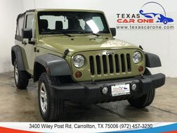 2013_Jeep_Wrangler_SPORT 4WD AUTOMATIC SOFT TOP CONVERTIBLE CRUISE CONTROL_ Carrollton TX