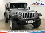 2013 Jeep Wrangler SPORT 4WD HARD TOP CONVERTIBLE ALLOY WHEELS AUX INPUT