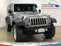 2013_Jeep_Wrangler_SPORT 4WD HARD TOP CONVERTIBLE ALLOY WHEELS AUX INPUT_ Carrollton TX