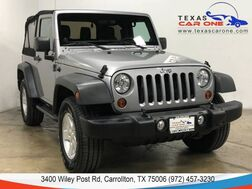 2013_Jeep_Wrangler_SPORT 4WD SOFT TOP CONVERTIBLE CRUISE CONTROL ALLOY WHEELS RUNNI_ Carrollton TX