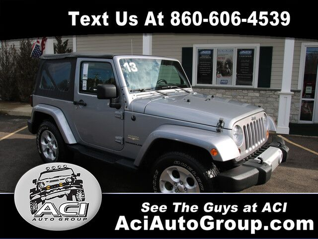 2013 Jeep Wrangler Sahara East Windsor CT